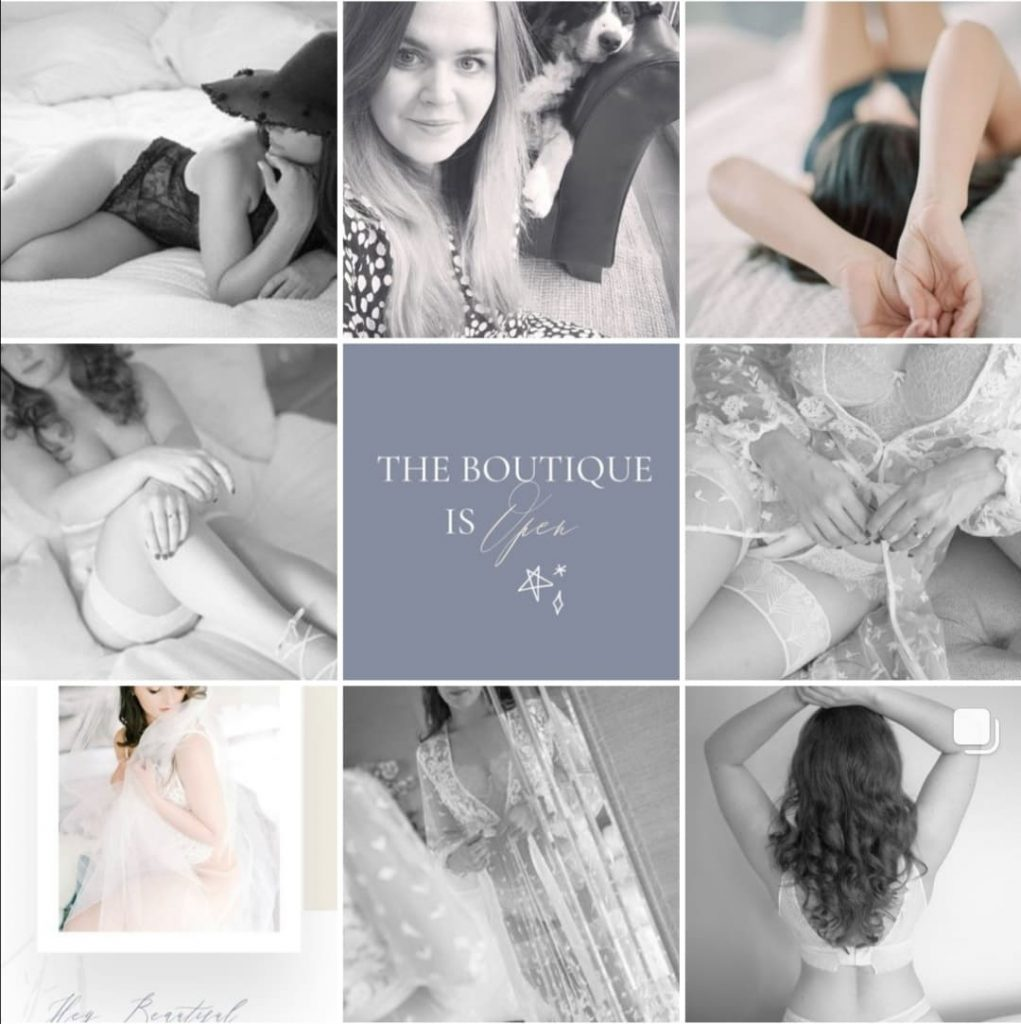 rebecca frost boudoir photography for christmas gift